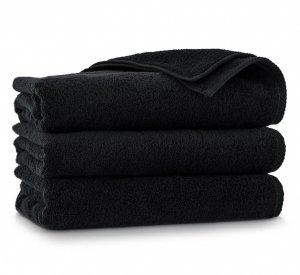 Ręcznik kąpielowy Zwoltex 50x100 KIWI 2 - Czarny - Bawełna Egipska.