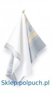 Ściereczka kuchenna Zwoltex Cejlon Szary- 50x70 cm - bawełna egipska