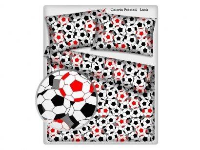 Pościel z Piłką Nożną 160x200 100% bawełna Tęcza - Pościel Piłka Nożna