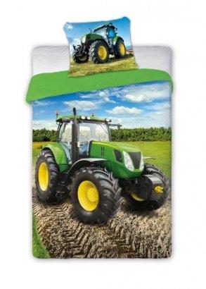 Pościel młodzieżowa Traktor - Ciągnik 160x200 Faro 100% bawełna wz Turbo 006