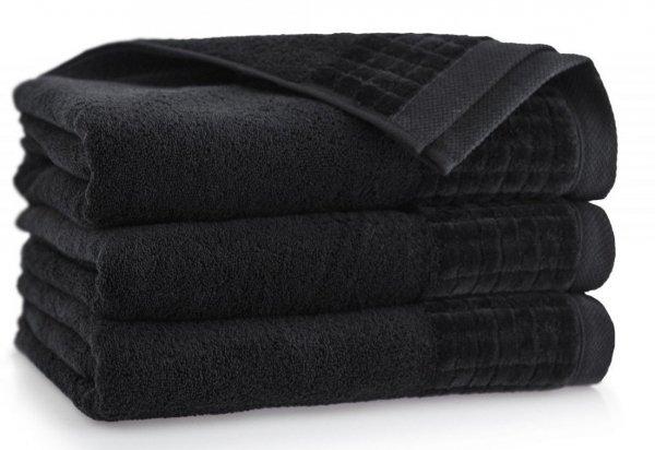 Ręcznik Paulo 3 50x100 Czarny - Bawełna Egipska