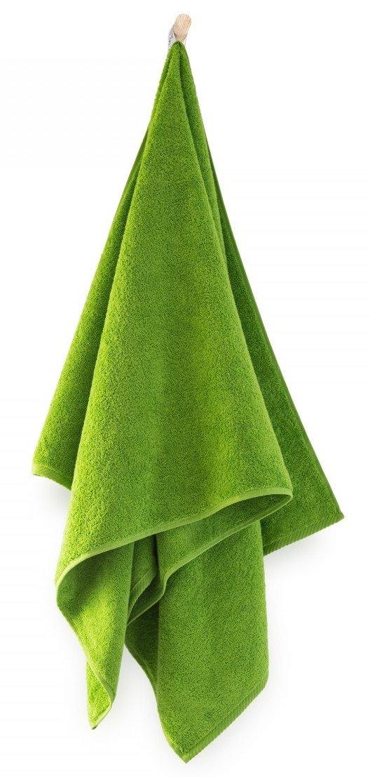 Ręcznik z bawełny egipskiej Zwoltex Kiwi 2 50x100 cm Groszkowy