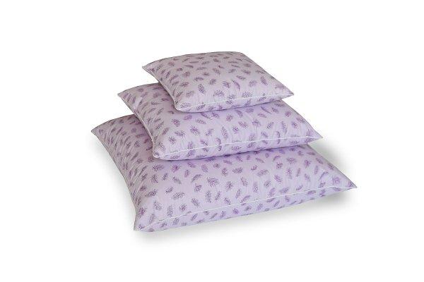 Poduszki z piór dartych ręcznie 70x80 cm