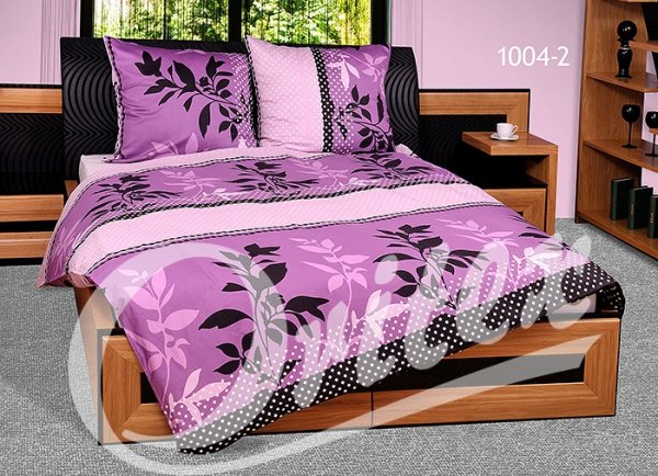 Pościel z makosatyny Oritex 160x200 Prestige 100% bawełna wz. 1004-2
