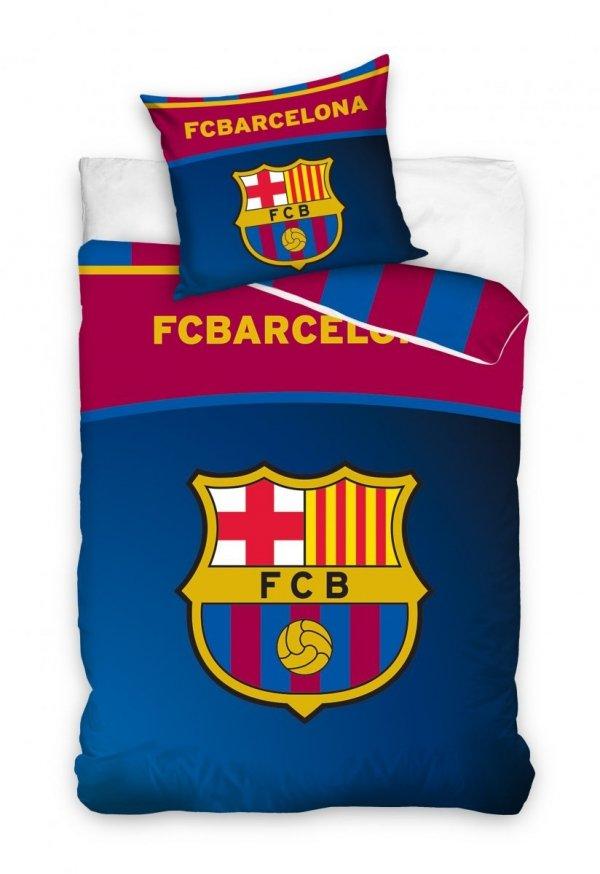Pościel Barcelona 160x200 100% bawełna FCB 1810136 Carbotex