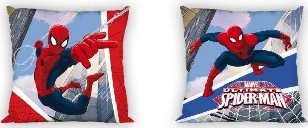 Dwustronna poszewka Spiderman 40x40 cm 100% bawełna