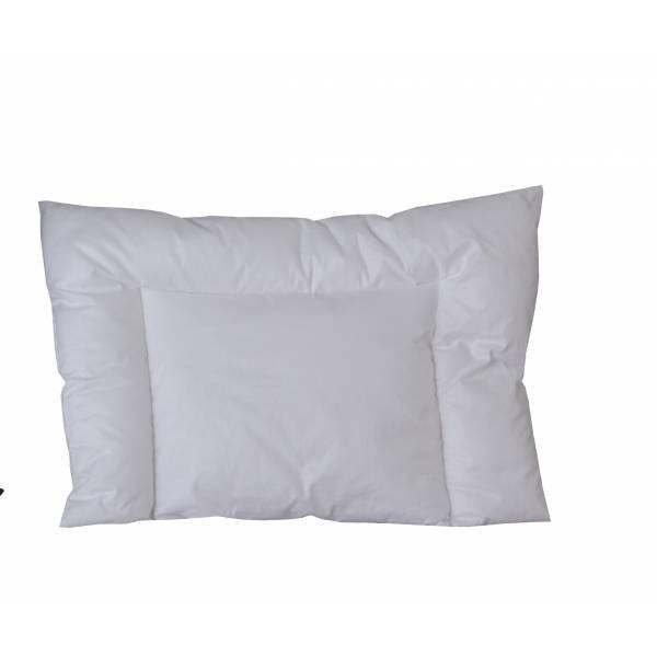 Poduszka dla skóry wrażliwej przeznaczona dla dzieci i niemowląt ze skóra wrażliwą 40x60 Poldaun