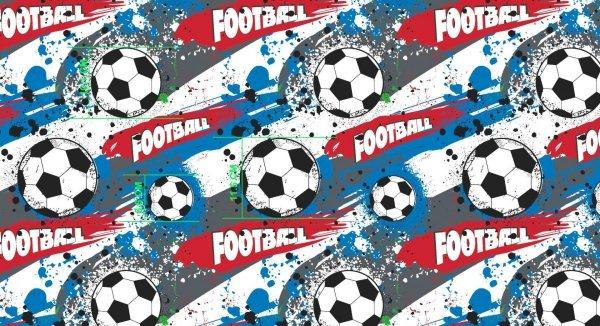 Pościel z Piłką Nożną 160x200 100% bawełna - Tęcza producent pościeli