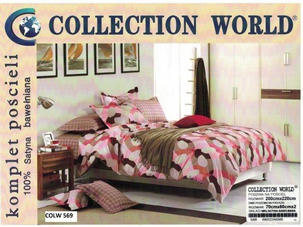 Dwustronny komplet pościeli firmy Collection World w rozmiarze 200 x 220 cm