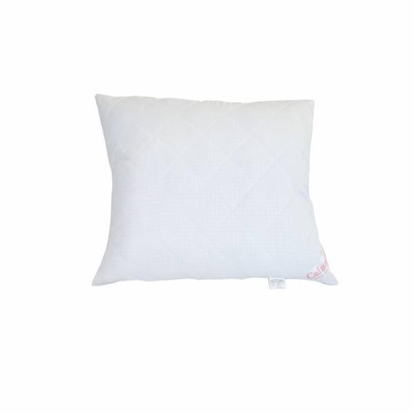Antyalergiczna poduszka pikowana 70x80 cm z zamkiem Calma Poldaun