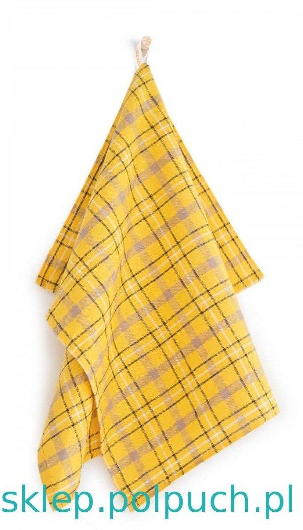 Ściereczka kuchenna Zwoltex Szkocja - Żółta