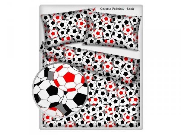 Pościel z Piłką Nożną 160x200 100% bawełna