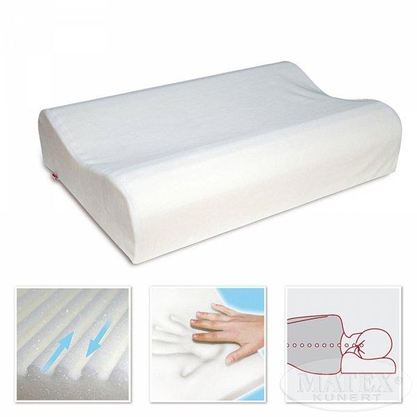 Poduszka Ortopedyczna Matex z pianki termoplastycznej. Poduszka Ortopedyczna z pamięcią.