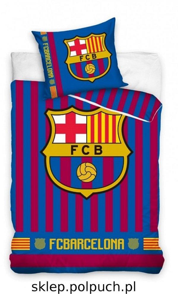 Pościel Barcelona 140x200 Carbotex 100% bawełna wz FCB 182013 - 140