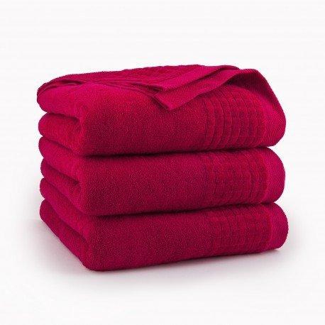Ręcznik kąpielowy 50x90 Czerwony Paulo Zwoltex