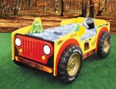 Łóżko dziecięce Monster Truck