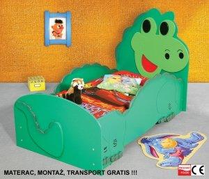 Łóżko dziecięce Dino