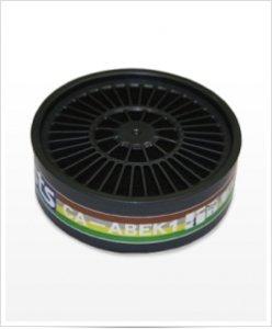 Filtr przeciwgazowy Shigematsu CA-ABEK1 do masek wielokrotnego użytku