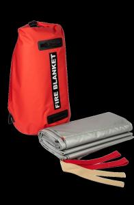 Samochodowa płachta gaśnicza Padtex Insulation SPG 7x10 Jednorazowego użytku + torba transportowa
