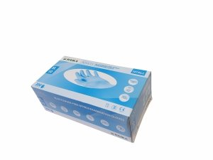 Rękawiczki nitrylowe rozm. XL niebieskie HAIKA NX435 200 szt.