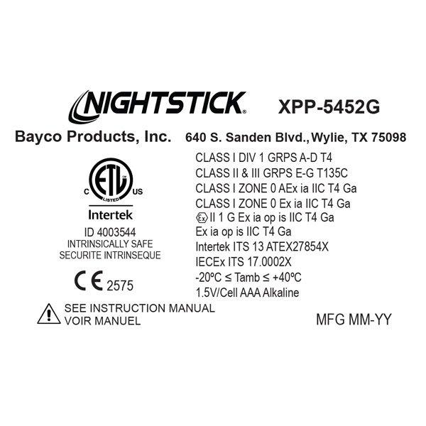 Latarka czołowa Nightstick XPP-5452G