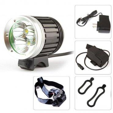 SUPER JASNA LAMPA ROWEROWA 3x CREE XM-L T6