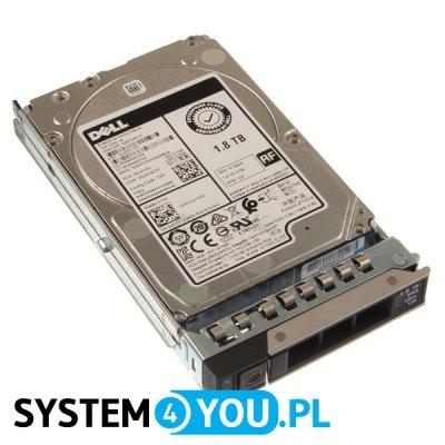 Dysk DELL 1.8TB 10K RPM 12Gbps 2.5 SAS