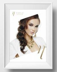 Plakat Noble Lashes Elegant