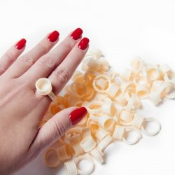 Silikonowe pierścionki na pigment