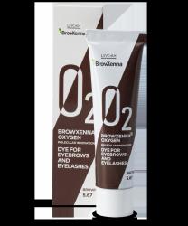Farba do brwi i rzęs BrowXenna® OXYGEN O₂ Brown #5.67