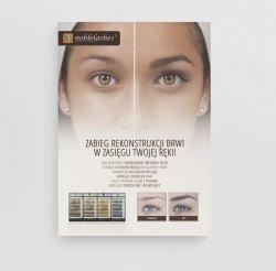 Poster zur Förderung der Augenbrauenrekonstruktion