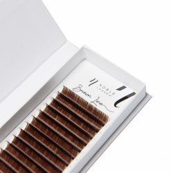 Brown Line Lashes D 0,15 brown