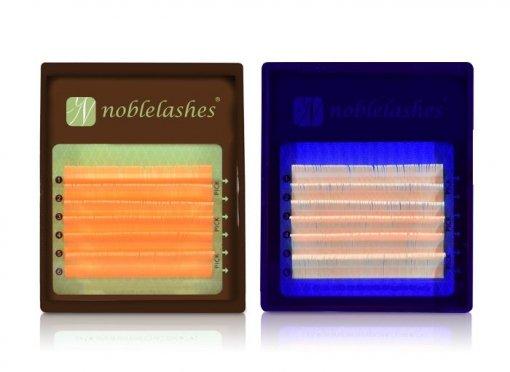 Rzęsy fluorescencyjne Żółte C 0,07