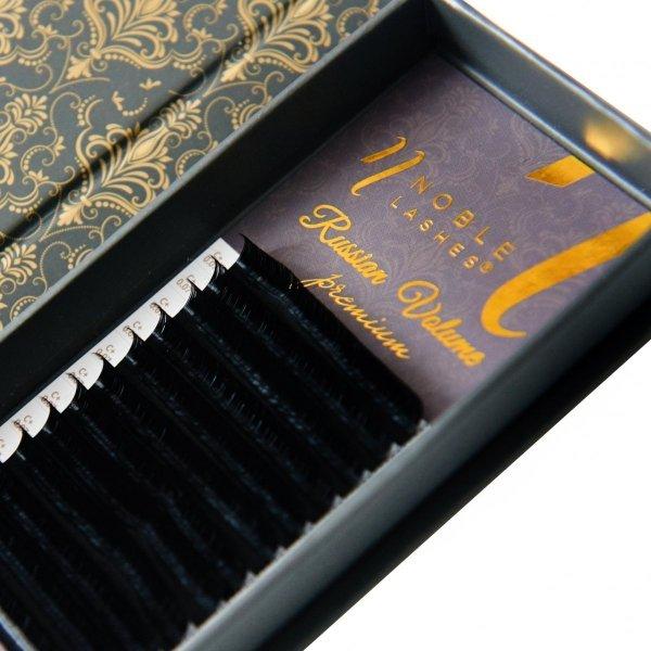 Rzęsy Russian Volume Premium D 0,07