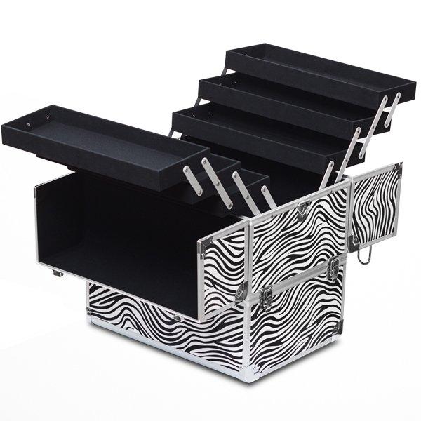 Cosmetic zebra case