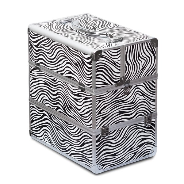 Cosmetic zebra case