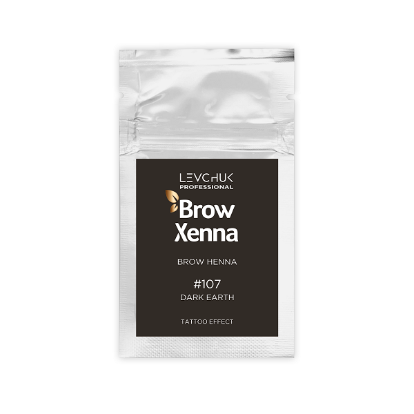 Henna pudrowa do brwi w saszetkach Brow Henna (Xenna)