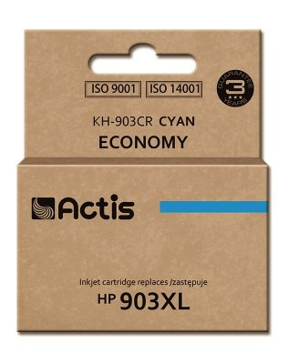 Tusz Actis KH-903CR (zamiennik HP 903XL T6M03AE; Standard; 12ml; niebieski) - Nowy Chip