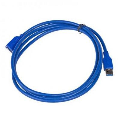 Przedłużacz Akyga AK-USB-10 (USB 3.0 M - USB 3.0 F; 1,8m; kolor niebieski)