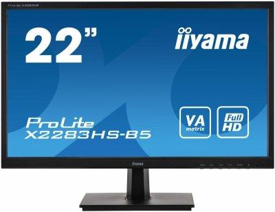 iiyama ProLite X2283HS-B5 LED display 54,6 cm (21.5) 1920 x 1080 px Full HD Czarny