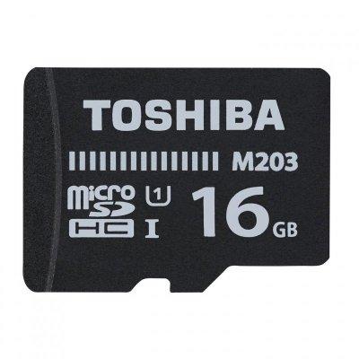 Karta pamięci Toshiba M203 THN-M203K0160EA (16GB; Class 10; Adapter)