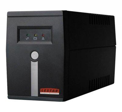 LESTAR 1966008466 zasilacz UPS Technologia line-interactive 600 VA 360 W 2 x gniazdo sieciowe