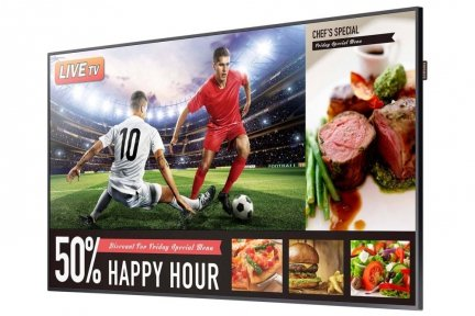 SMART Signage Business TV Samsung RM49H