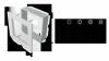 KRATKA kominkowa galwaniczna 17x30 Oskar miedziana