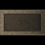KRATKA kominkowa 17x30 czarno-złota