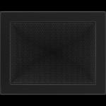 KRATKA kominkowa 22x30 czarna