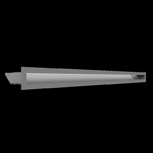 Kratka kominkowa LUFT biały 6x100