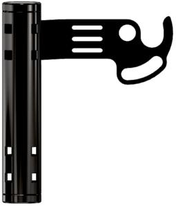 Klamka – czarna