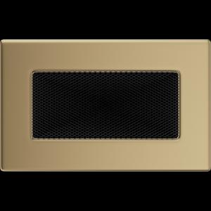 KRATKA kominkowa 11x17 złoto galwaniczne