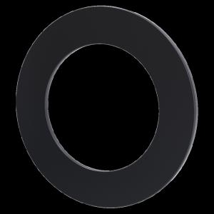 ROZETA fi 150 z blachy czarnej